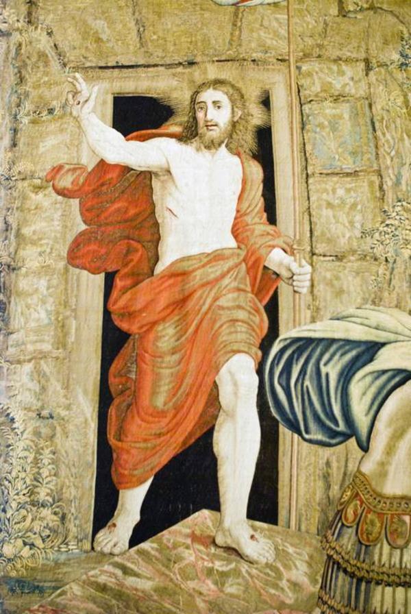 Jesus staar op fra de doede