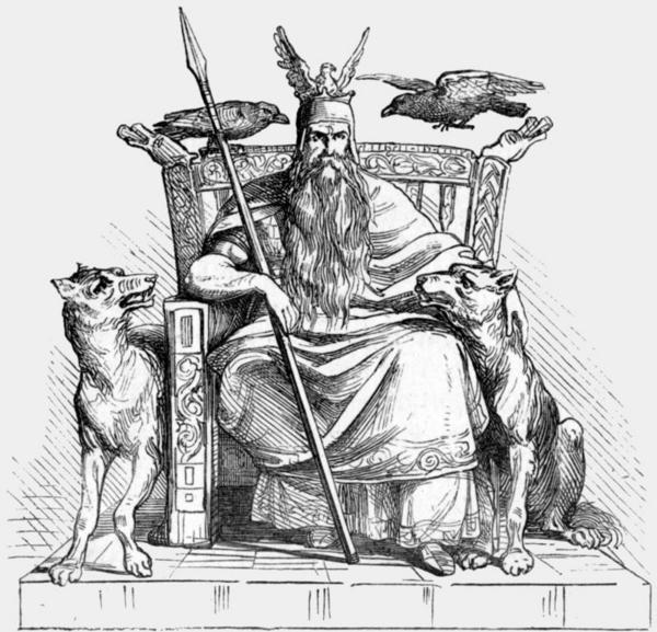 Odin  Manual of Mythology