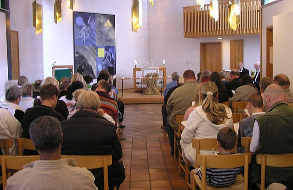 Gunnar Bach Pedersen  2006  Wikimedia Commons  Bavnehoej menighed   Kopi