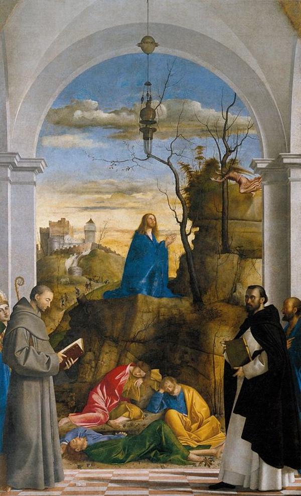Marco Basaiti   Christ Praying in the Garden   WGA1397  Jesus i getsemene  Wikimedia